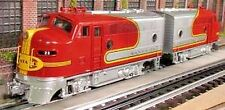 RMT/READY MADE TRAINS BEEF MINI F-3 A-A DIESEL SET SANTA FE O GAUGE