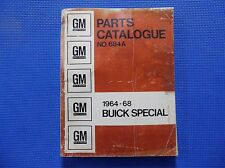 SKYLARK SPECIAL MASTER PARTS CATALOG 64 - 1968 *original*