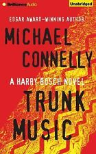 TRUNK MUSIC unabridged audio book on CD by MICHAEL CONNELLY