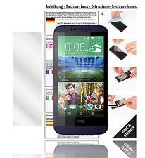 6x Displayschutzfolien für HTC Desire 510 Schutzfolie Klar Folie