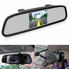 "4.3"" TFT LCD Monitor Mirror Screen Car Back Up Camera Accesory Rear View Mirror"