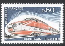 France 1974 Train/Transport/Railway/TGV 1v (n24504)