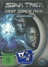 Star Trek Deep Space Nine Season 3.1 Neu OVP Sealed Deutsche Ausgabe 3 DVD`s