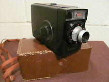 Vintage Kodak Brownie Fun Saver Movie Camera In Original Field Case - Very Good