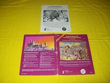 B2 THE KEEP ON THE BORDERLANDS DUNGEONS & DRAGONS TSR 9034 19 MODULE 1ST PRINT