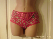 SIZE 10 PINK KNICKERS BY MARKS AND SPENCER