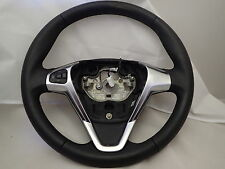 FORD FIESTA MK9 2012 2016 MULTI FUNCTION LEATHER STEERING WHEEL