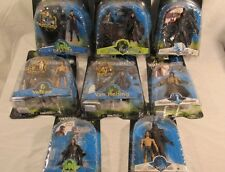 Van Helsing Figures Lot of 8 Jakks Pacific figures Castle Dracula Dissection Lab