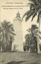 French Polynesia, Tahiti, HAAPAPE, Venus Point's Lighthouse (1920s)