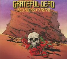 GRATEFUL DEAD - RED ROCKS AMPHITHEATRE,MORRISON,CO 7/8/78 DIGIPAK 3 CD NEU