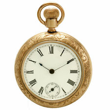 New England Watch Co. Rugby Model Pocket Watch with Duplex Movement CA1900