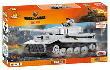 BRICKS COBI 3000 WORLD OF TANKS TIGER 1 SMALL ARMY 555 ELEMENT 1 FIGURES WW2