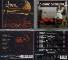 2 CDs, Alien - Eternity (2014) + Sonic Station - Next Stop +4 (2016) Lionville