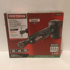Craftsman C3 19.2V Max Axess Cordless Auto Ratchet Kit Tool Battery Charger NEW!