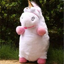 "16"" inch New Despicable Me Fluffy Unicorn White Soft Plush Doll Fluffy Toy Gift"
