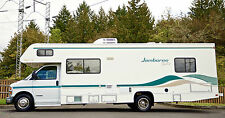 Jamboree Rally GT Tioga Fleetwood Class C Motorhome Workhorse Chevrolet Chassis