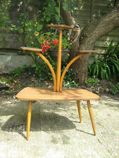 1950S Vintage Atomic retro formica Plant Stand Table mid century