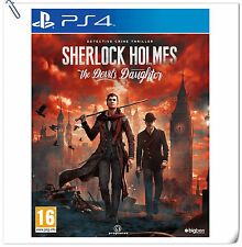 PS4 Sherlock Holmes The Devil's Daughter SONY PLAYSTATION Games Adventure Big Be