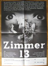 orig.Filmplakat / movie poster   Zimmer 13  Edgar Wallace  J.Fuchsberger , K.Dor