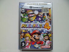 NINTENDO GAMECUBE PAL GAME MARIO PARTY 4 NEW AND SEALED ITALIAN