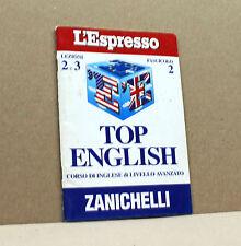 TOP ENGLISH - corso di inglese - Lezioni 2 e 3 Fascicolo 2