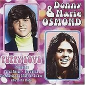 DONNY & MARIE OSMOND - PUPPY LOVE - CD (FREE UK POST)