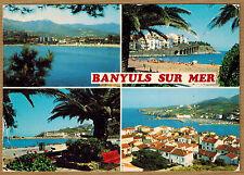 Cpsm / Cpm Banyuls sur Mer - la ville et sa plage wn0299