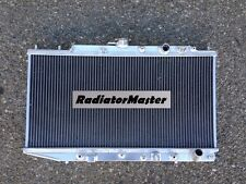 ALUMINUM RADIATOR FOR 1988-1991 HONDA CRX  BASE Si HF DX L4 A/T M/T 2ROW