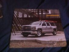 2014 Chevy Chevrolet Commercial Work Trucks Color Catalog Brochure Prospekt