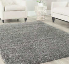 "8x10  Area Rug Shaggy SHAG  Gray 2  inch Plus Thick & Heavy   Size 7'3""x10'  NEW"
