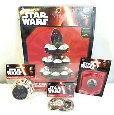 Wilton Star Wars Cupcake Set 1 Stand 50 Baking Cups 24 Fun Pix 1 Candle New