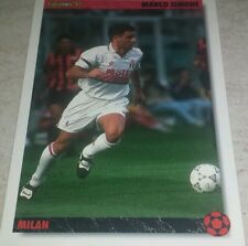 CARD JOKER 1994 MILAN SIMONE CALCIO FOOTBALL SOCCER ALBUM