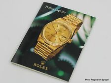Rolex Collectible 1990's Rolex Oyster Catalog w/ 16523, 16700, & Oysterquartz!