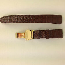 Watch Band Seiko Premier 5D88 0AA0 SRX004P1 Brown Strap 6A32 00R0 SNQ118 SNAF22