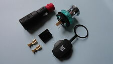 12/24v Aux cigar lighter socket and plug kit with cover, multiplug and terminals