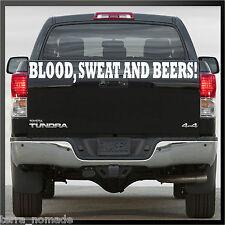 Huge Blood Sweat & Beers Gas Fast N Loud Hot Rod VW Monkey  Van Sticker decal