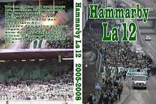 4 DVD BOX ULTRAS HAMMARBY  2005-2008 (BAJEN FANS,BARA BAJARE,STOCKHOLM,ULTRA)