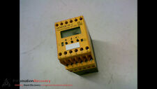 IFM DD2005 MONITOR. 2 RELAY OUTPUTS 2 TRANSISTOR OUTPUTS. 24V DC. #158061