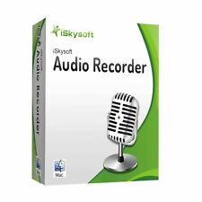 Audio Recorder MAC iSkysoft lifetime dt. Vollver. ESD Download 19,99 statt 29,-!