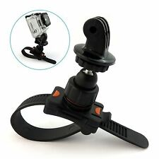 Roll Bar Zip Mount For GoPro Hero 2 3 3+ 4 5 Fits Cage Handlebar Seatpost Bike