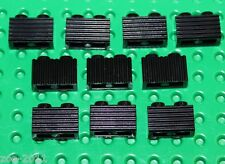 Lego 10x Black Modified Brick 1x2 with Grille (2877) NEW!!!