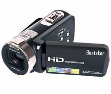 Besteker HD1080P 24MP 16X Digital Camera Camcorder Video Recorder DV HD Recorder