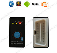 Mini ELM327 Bluetooth OBD2 Car Diagnostics Scanner + Power Switch v2.1