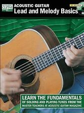 Acoustic Guitar Lead and Melody Basics BookCD (String Letter Publishing) (Acoust