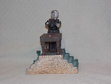 Old Antique Cast Iron Top Hat Magician Mechanical Working Bank