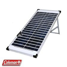 2 X Coleman Sunforce  40W 12V Solar Panel with Stand 40 Watt 12 Volt  Free Ship