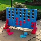 New Large Connect 4 In A Row Garden / Outdoor Game