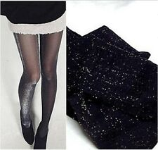 Glitter Shimmer Tights Fashion Sheer sparkling shiny pantyhose sparkle