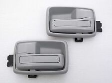 1 PAIR ISUZU TF TFR KB KBZ HOLDEN RODEO INNER DOOR HANDLE GRAY R/L