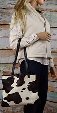 Liberty Leather Kelsey Cowhide Tote Shoulder Bag Made in Italy